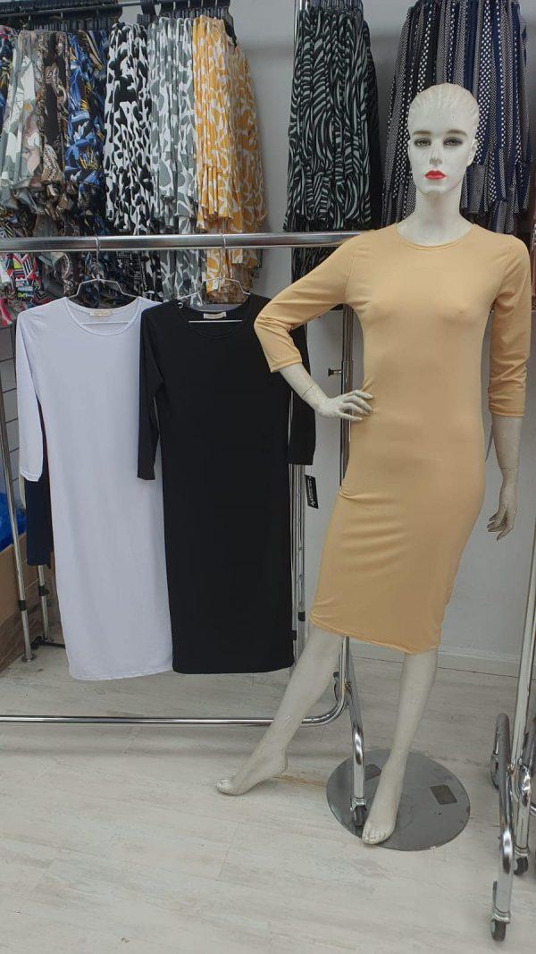 שמלה בסיס שרוול 4|3
